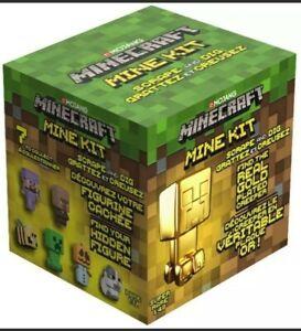 Minecraft Mine Kit Mojang Scrape and Dig Just Toys Age 3+