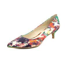 Women's Multi-Colored Canvas Heels