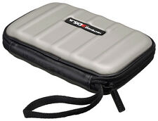 Silver / Grey Nintendo 3DS / 3DS XL Carry Case Stores Console 8x Games stylus