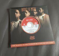 Boyz II Men (Boyz 2 Men) - 5 Track DVD Single - BRAND NEW, SEALED