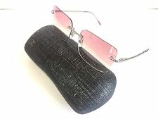 New Chanel 4101 124 58 Rimless Authentic Women Sunglasses With Chanel Case