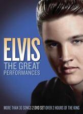 Elvis Presley: The Great Performances [DVD, 2 discs] (2011) NEW