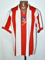 ATLETICO MADRID 2003/2004 CENTENARY HOME FOOTBALL SHIRT NIKE SIZE XXL ADULT