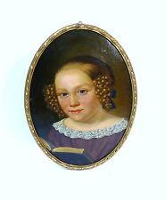 Porträt im Rahmen Ölbild signiert  Georg Schirmer 1851