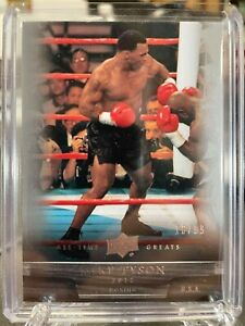 2012 UPPER DECK MIKE TYSON ALL-TIME GREATS #'D 10/99 BOXING