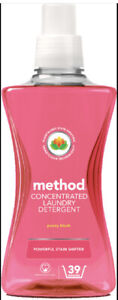 Method Concentrated Laundry Liquid Detergent Peony Blush, 39 Washes