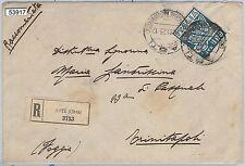 53917 - ITALIA REGNO - Storia Postale: Sass 144  ISOLATO su BUSTA  in tariffa