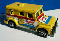 "Majorette Bank Security 1/57 Diecast Car Toy Made in France 3"" Long"