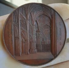 RARE ARCHITECTURE MEDAL BY WIENER - BURGOS CATHEDRAL