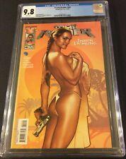 Tomb Raider #45 CGC 9.8 IMAGE COMIS TOP COW Sexy Adam Hughes Cover RARE HTF MINT