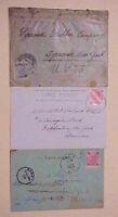 AUSTRIA  TURKEY  TO USA 1900,1904,1907