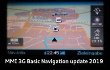 Audi 3G Basic MMI Navi 2019 Update incl. SW A4 A5 A6 A8, Q5  5.28.2 4G0060884AE