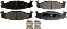 Disc Brake Pad Set-ProSolution Semi-Metallic Brake Pads Front Monroe FX632