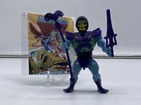 1981 MASTERS OF THE UNIVERSE SKELETOR 1st Release Peach Cheeks Half Boot MOTU