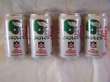 Diet Coca-Cola 1992 NFL Collector Series, Four Philadelphia Eagles Cans