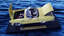 """DIE-CAST ~~ FORD THUNDERBIRD 1955 ~~ approx. size:  9 3/4""""L x 4 1/4"""" x 3 3/8"""""""