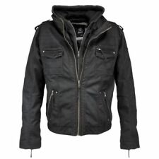 Motorcycle Regular Size Coats & Jackets for Men