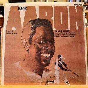 Hank Aaron Life of a Legend SEALED Vinyl LP Curt Gowdy Fleetwood FCLP 3018 Henry