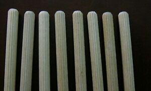 10 Ikea Wood Dowels, 8 mm wide x 50 mm long, Part # 101356, Fit Aspelund, Nornas