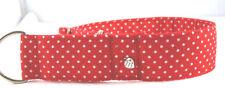 Windhundhalsband, Martingale, Zugstopphalsband , Größe SM bis 40 cm Halsumfang