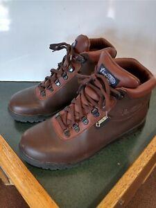 Vasque Sundowner Burgundy Leather Gore Tex Waterproof Hiking Boots 8.5 W #7142