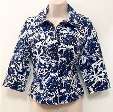 Coldwater Creek~SZ 10~3/4 Sleeve Button Front Unlined Jacket/Shirt/Top
