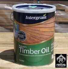 Intergrain Nature's Timber Oil 10L - Merbau, Natural, Jarrah