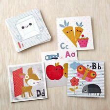 New listing Land of Nod Alphabet Wall Cards by Jillian Phillips Playroom Wall Decor