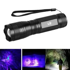 LE Kaltweiß / UV Licht LED Taschenlampe, 395nm UV Stablampe, IPX4 wasserfest