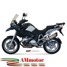 Mivv Bmw R 1200 Gs 2006 06 Terminale Di Scarico Moto Marmitta Suono Inox