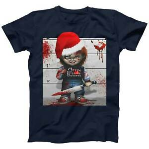 Chucky Bloody Christmas T-shirt for Men Women Kids Xmas Gift Plus Size Available
