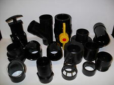 """2"""" Solvent Weld Pipe Fittings. Koi Fish Pond Filter"""
