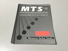 MTS CONOCIMIENTO FONEMICO, MULTISENSORY SYSTEM FOR READING