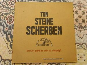 TON STEINE SCHERBEN - Warum geht es mir so dreckig LP Vinyl Schallplatte sst 13