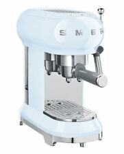 Smeg ECF01 2 Cups Espresso Machine - Pastel Blue