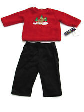 The Mayfair Company Baby Boy Christmas Two Piece Outfit Set 3/6 Months New