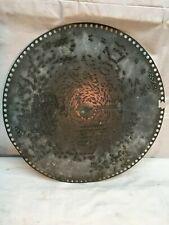 Regina 15.5in Metal Music Disk Title unreadable ? 1800s