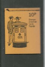 Great Britain Booklet 10 August 1972 British Pillar Boxes N 5  Mint