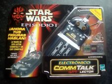 1999 STAR WARS EPISODE 1 ELECTRONIC COMMTECH CHIP READER - SPANISH / SEALED.