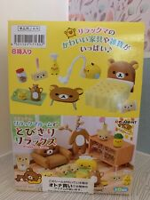 Re-ment Relaxing in Rilakkuma Relaxing Room 8 PIECE FULL SET NEW Ships from USA