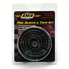 "DEI Fire Sleeve & Tape Kit 1"" ID x 3 Ft (36"") High Temp Underhood Insulate Hoses"