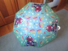 Nip w/Tag Shaw Creations Sesame Street Rock & Roll Elmo Polyester Umbrella