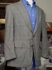 JOS A BANK Multi Color Gun Club Check Wool Sport Coat Mens Blazer Jacket 42 43 R