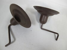 Homco Home Interiors Metal Replacement Candle Holders Arm Sconce Window