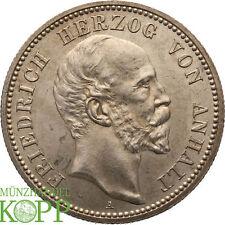 Aa1600) j.20 Anhalt 2 mark 1896 a-Friedrich I. 1871-1904