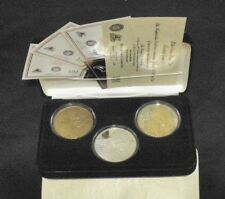 DAN MARINO MIAMI DOLPHINS HIGHLAND MINT .999 SILVER COINS W/ 24KT GOLD ROUNDS