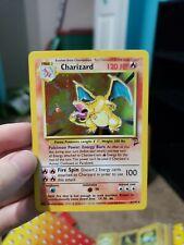 Holographic charizard pokemon card