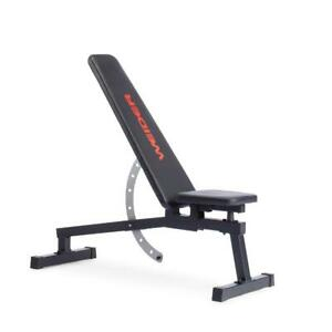 Weider Legacy Adjustable Workout Bench with 16 Positions and Included Exercise C