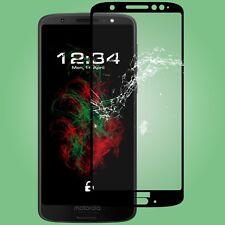 Pellicola VETRO fullscreen chiaramente per Lenovo MOTO g6 in nero vetro di protezione vetro reale 9h