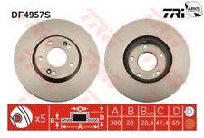 TRW Brake Disc (Single) - DF4957S